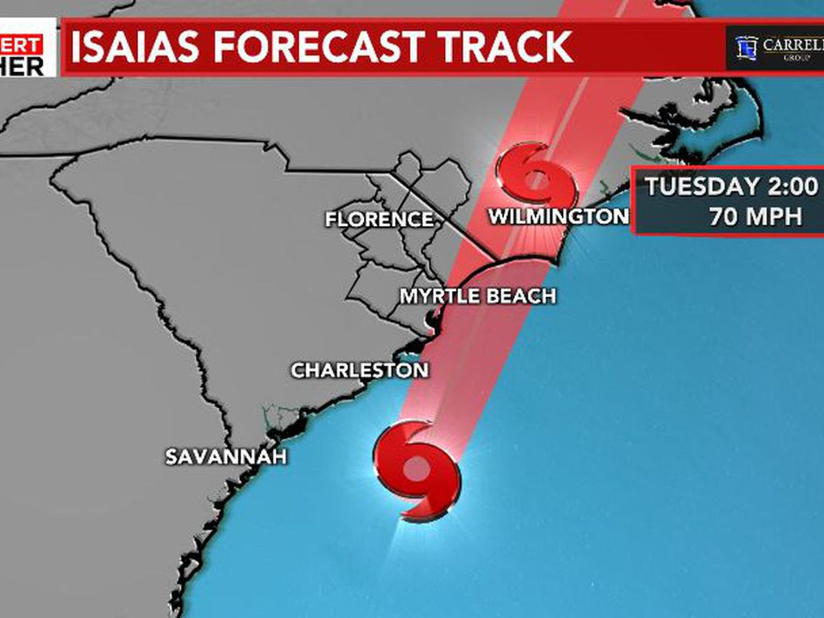 Hurricane Isaias makes landfall in N.C.