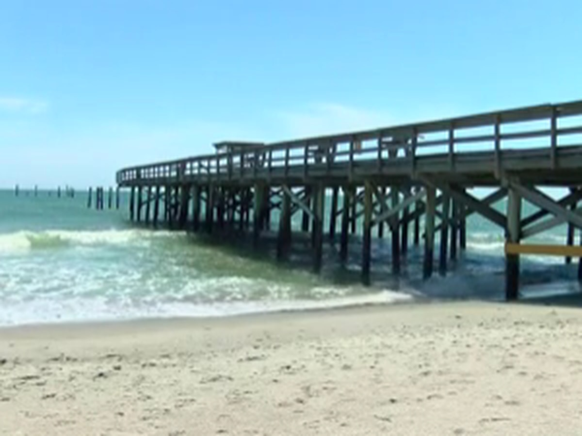Myrtle Beach's iconic Springmaid Pier one step closer to reconstruction