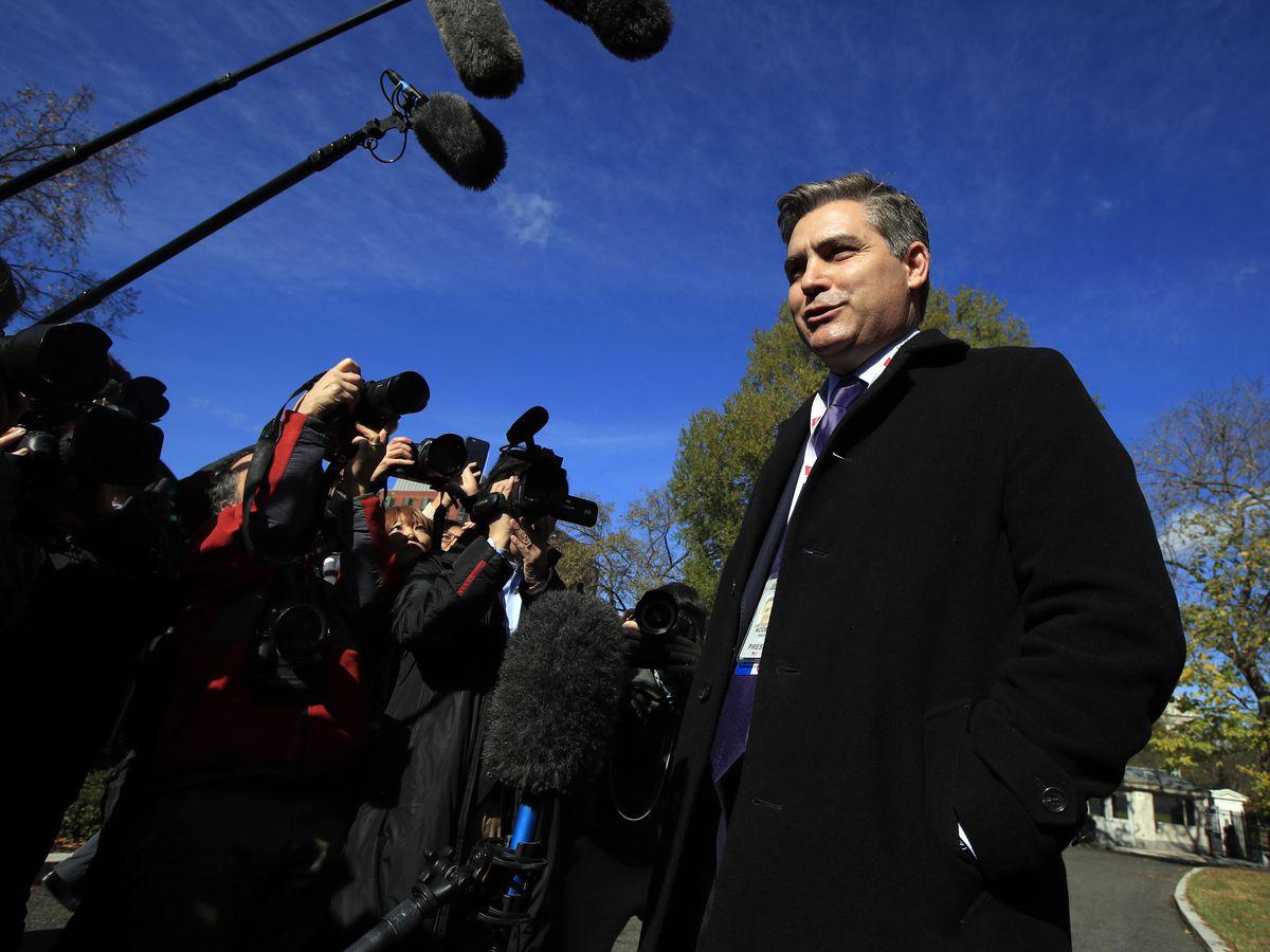 White House again threatens Acosta's pass; CNN seeks hearing