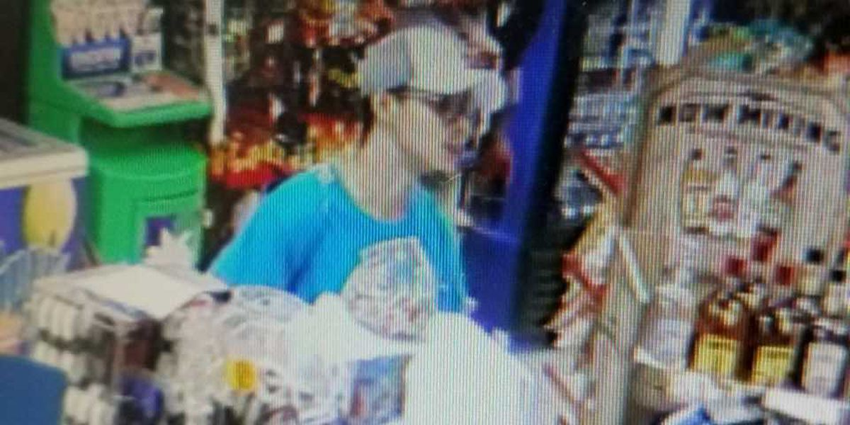 Police seek suspect after convenience store robbed at gunpoint