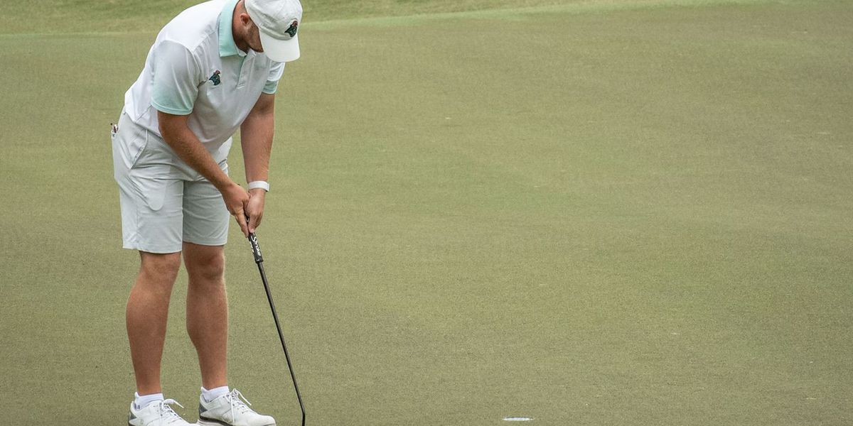 CCU men's golf moves on to match play, Taylor & Taylor finish in three-way tie for second