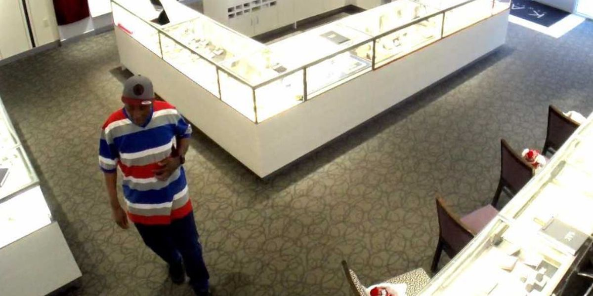 Police: Man wanted for robbing jewelry store at gunpoint
