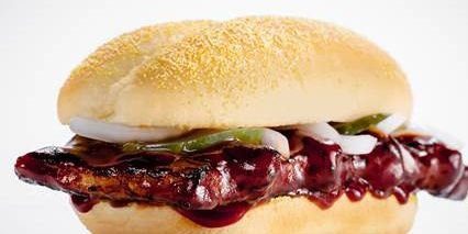 The McRib is back for a limited time