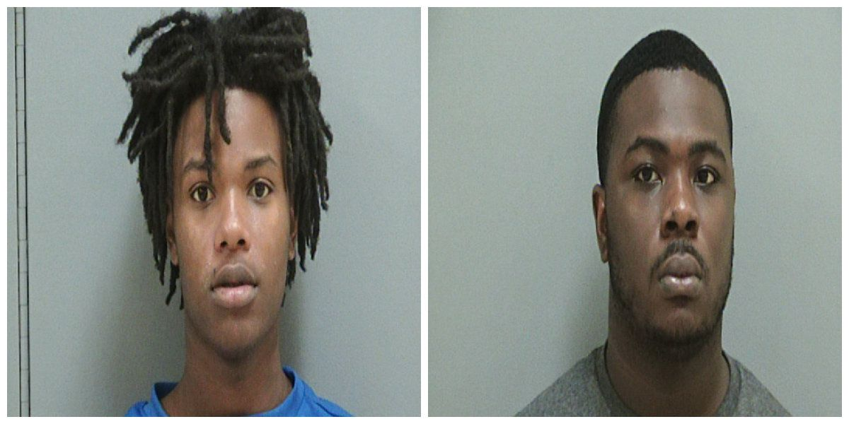Two charged with robbing Pee Dee Cookout at gunpoint