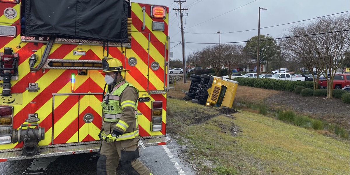 One injured in rollover crash near Coventry Boulevard