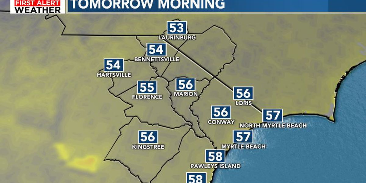 FIRST ALERT: Tranquil fall forecast