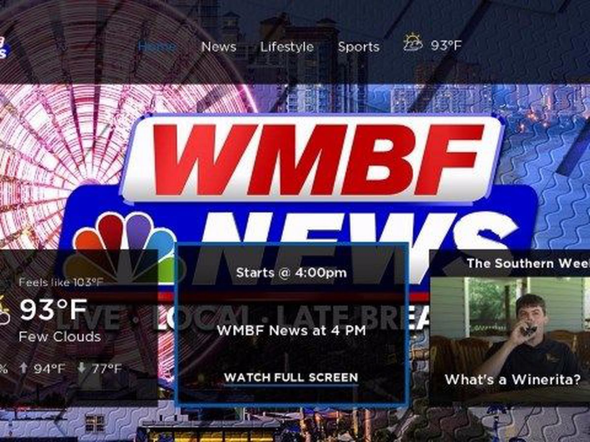 Watch WMBF News on Roku