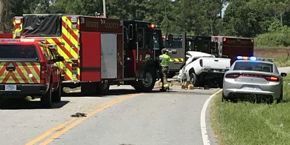 1 killed, 2 extricated after multi-vehicle accident Friday northwest of Conway