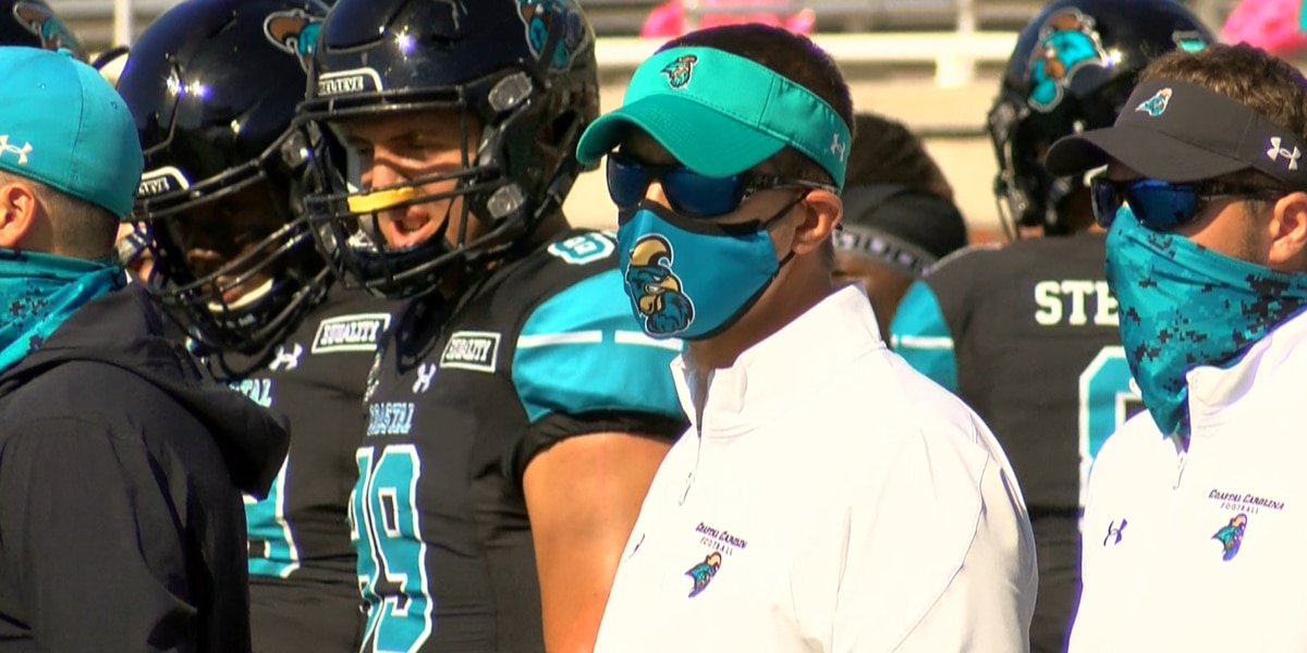 CCU head coach Jamey Chadwell named George Munger Coach of the Year