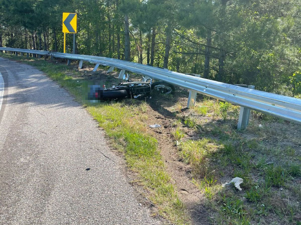Two injured in motorcycle crash on Hwy. 31 off-ramp