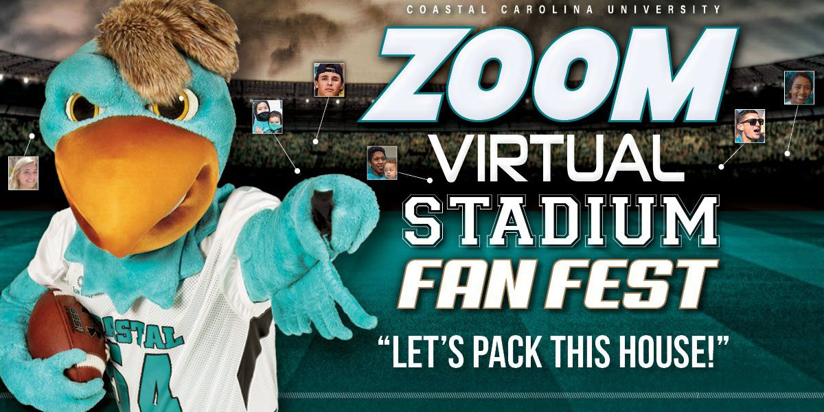 CCU hosting 'Zoom Virtual Stadium' to support Chanticleers