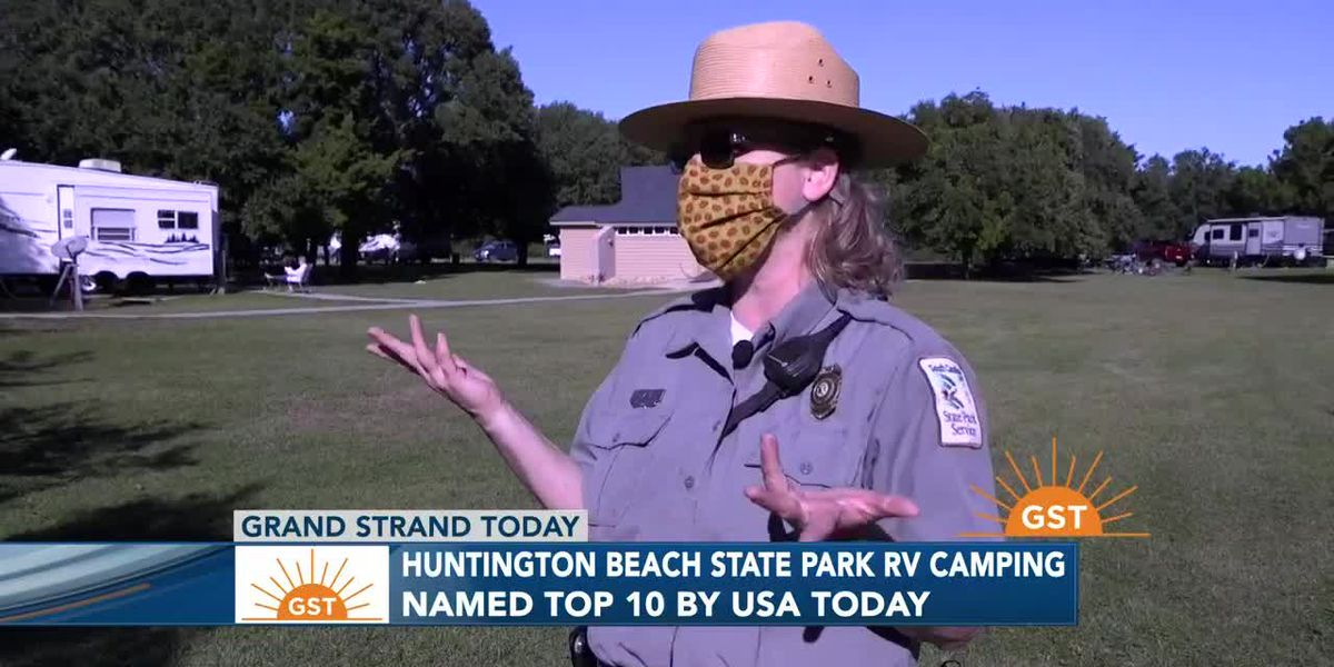 Huntington Beach State Park is recognized by USA Today for RV Camping