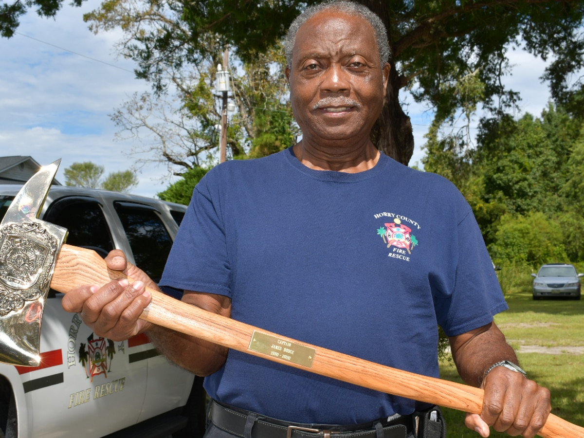 Longest-serving volunteer firefighter in Horry County retires after 40 years