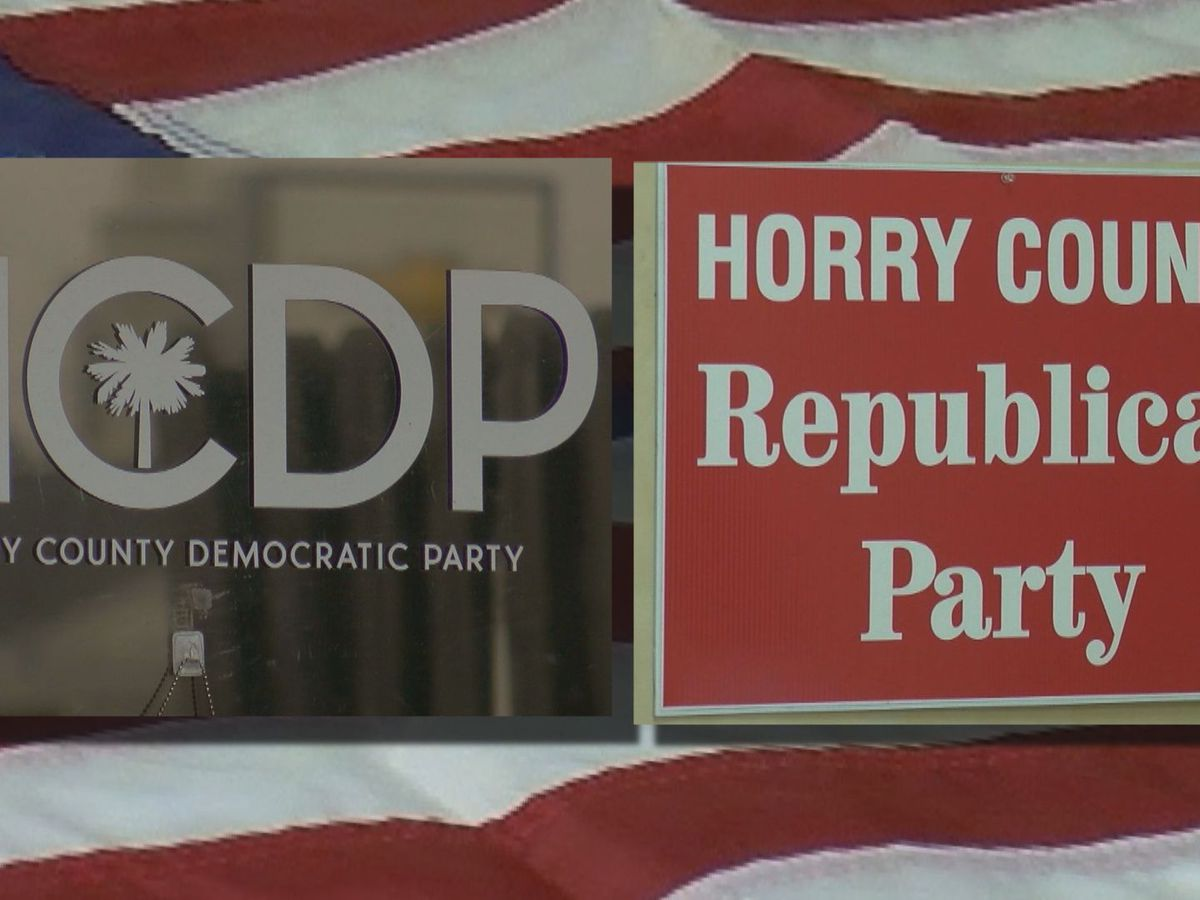 Horry County Democratic Party, GOP gear up for busy primary week