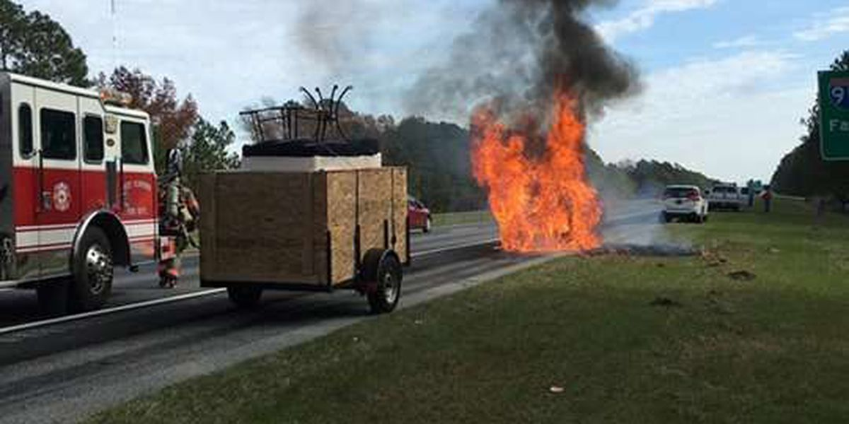 West Florence Fire crews respond to vehicle, dumpster fires