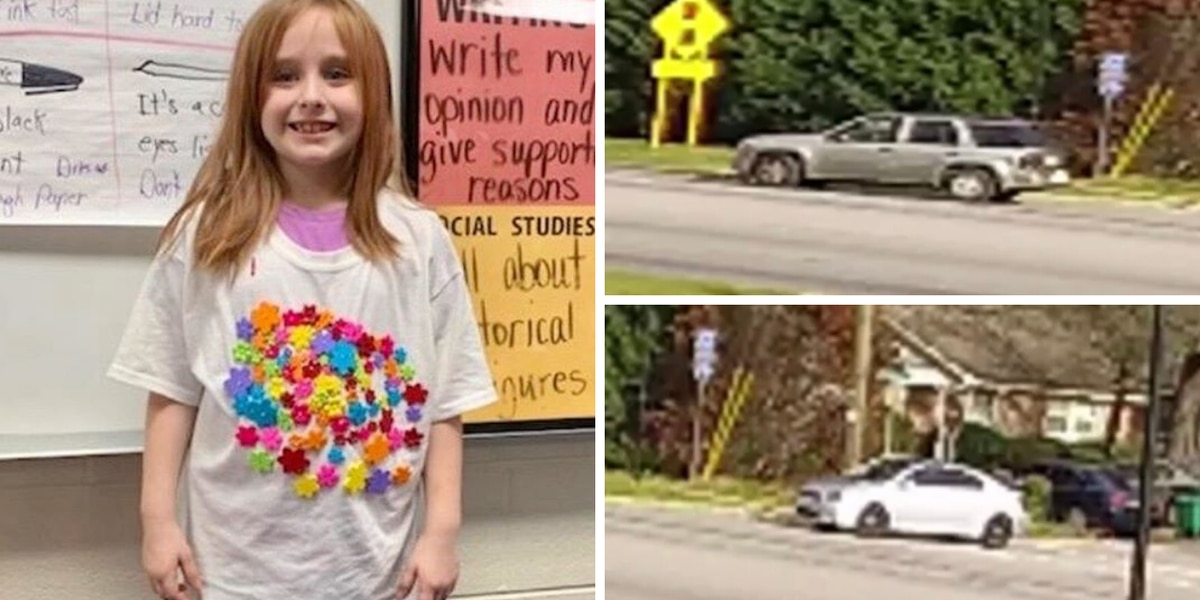 Police ask for help identifying 2 vehicles in neighborhood where 6-year-old S.C. girl disappeared