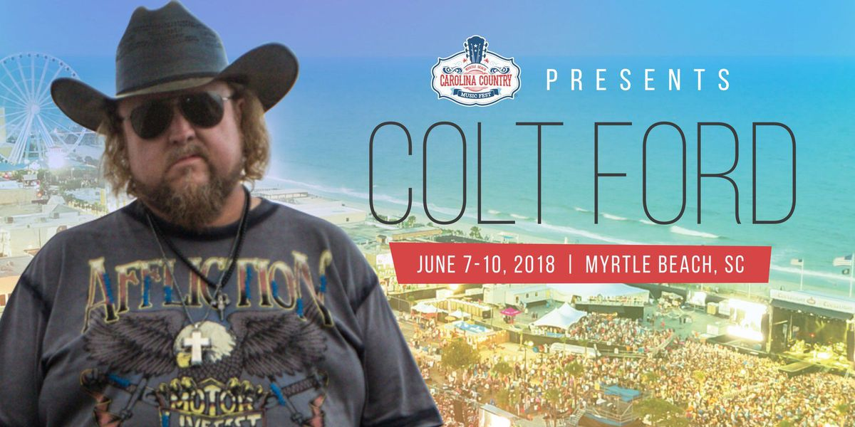 Colt Ford scheduled to perform at 2018 CCMF