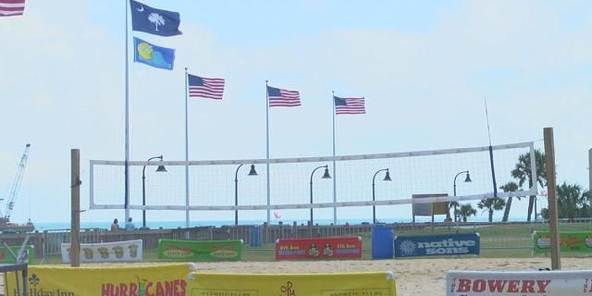 Three additional beach volleyball courts coming to downtown Myrtle Beach