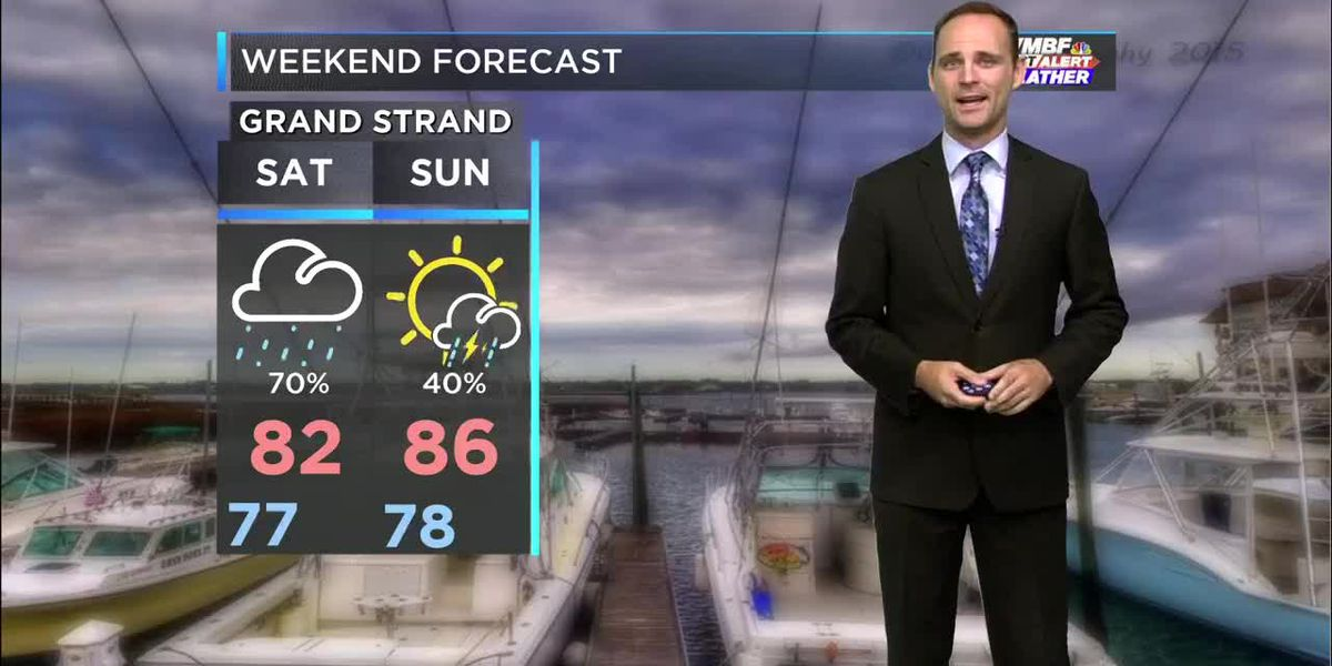 Sean's Soggy Saturday Forecast