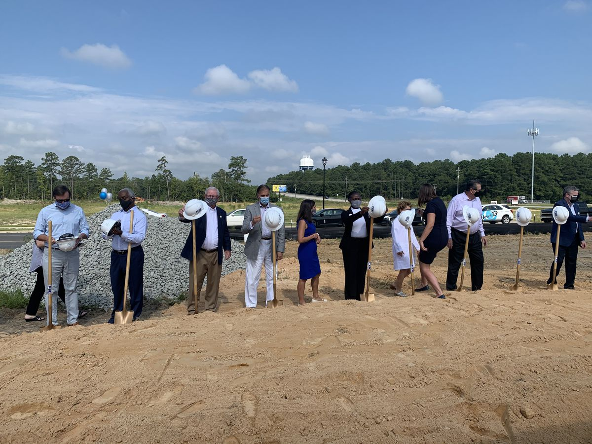 HopeHealth breaks ground on new location in west Florence