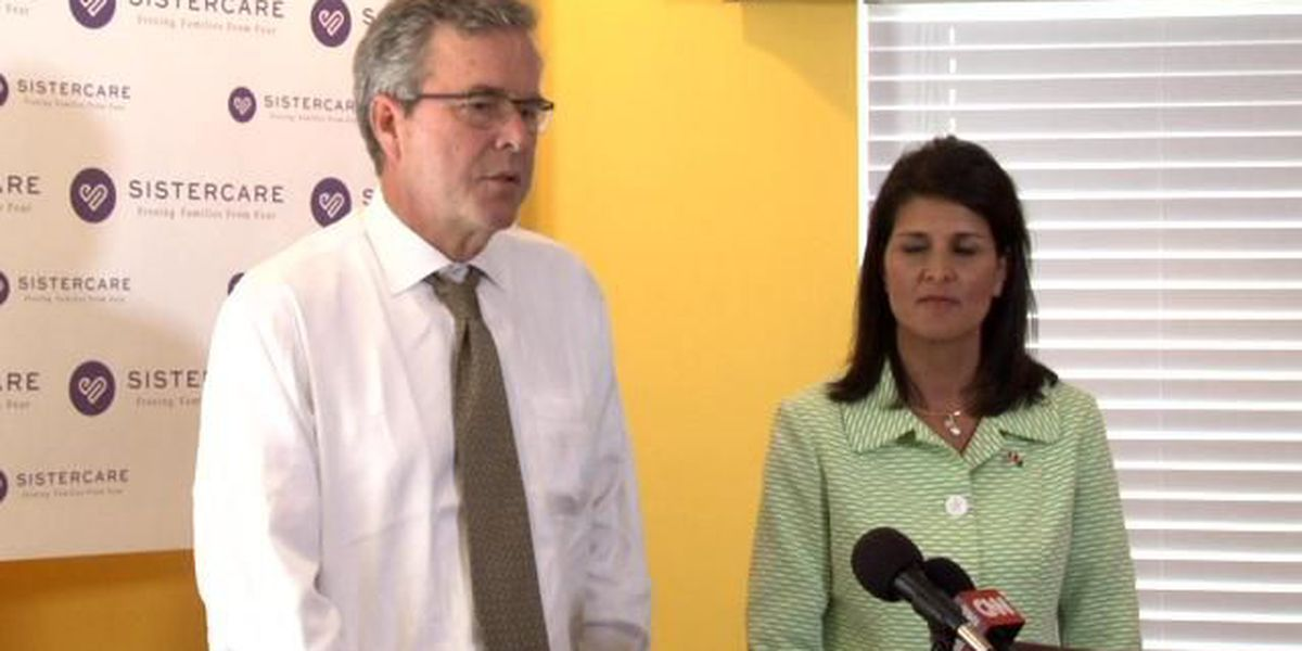 Presidential hopeful Jeb Bush visiting Horry County