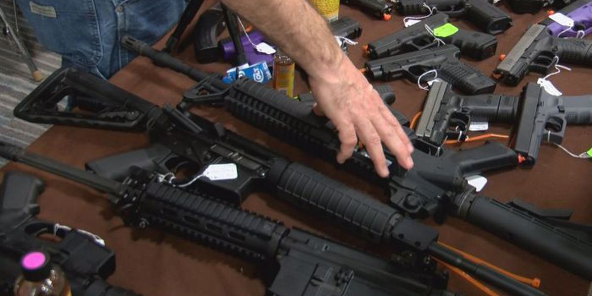 Florence Gun Show sees spike in sales after president announces executive order on gun control