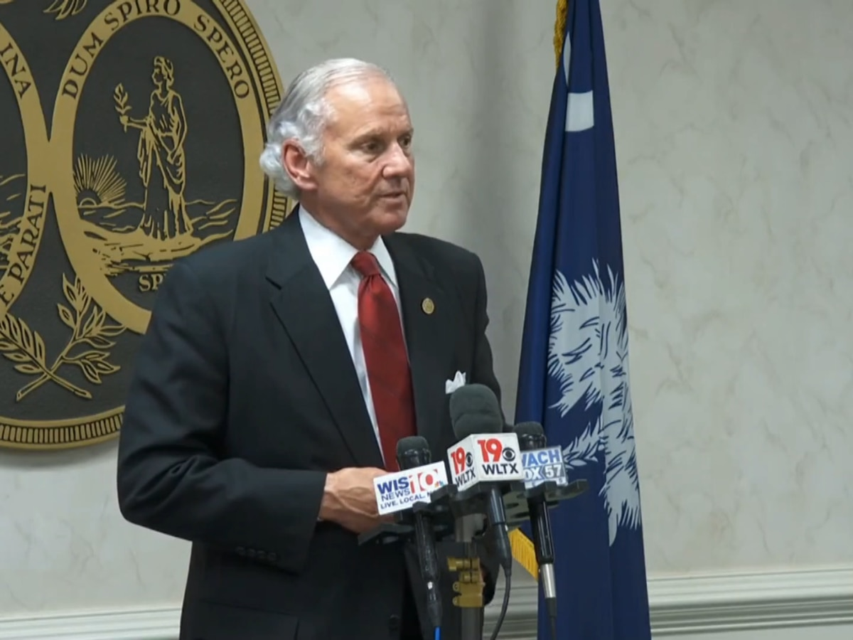 Gov. McMaster: National Guard, law enforcement 'alert and ready'