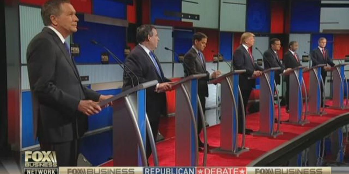 GOP candidates face off in N. Charleston before SC primary