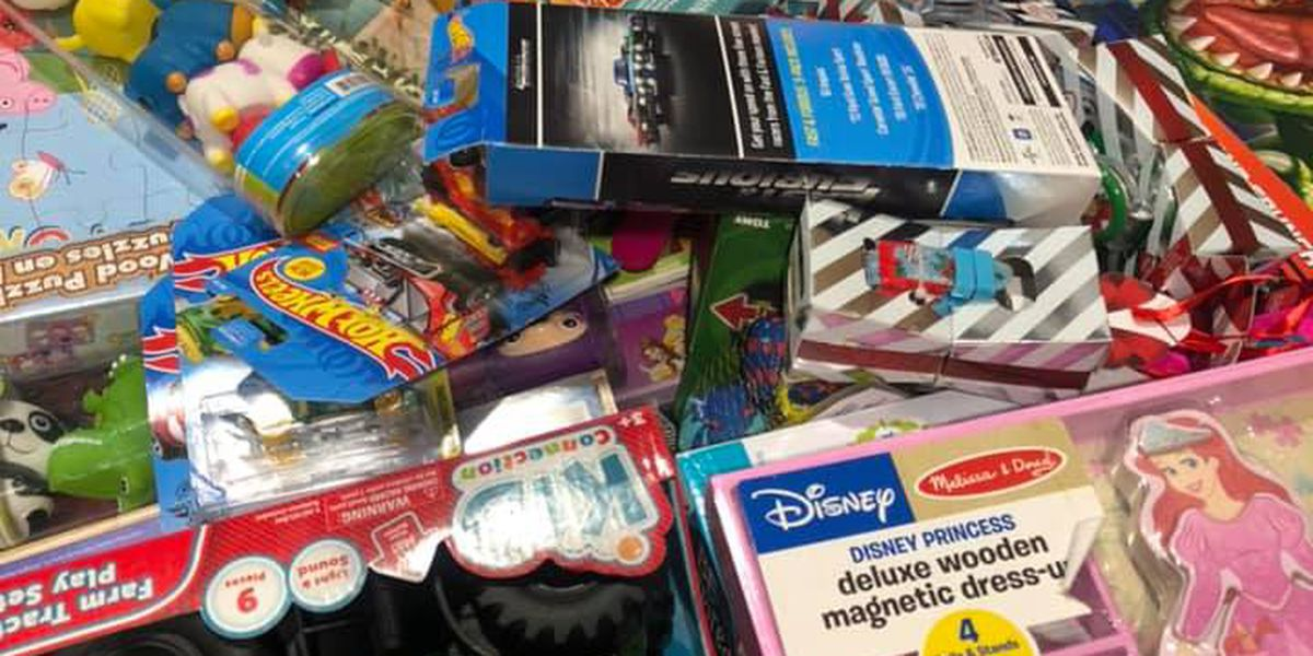 Conway Ford collects thousands of toys for area children this holiday season
