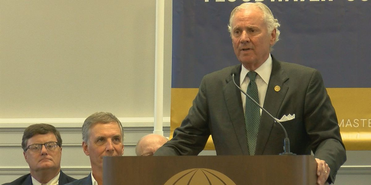 Gov. McMaster visits Horry County, calls on state to be leader in flood mitigation