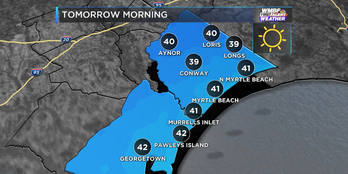 FIRST ALERT: Chilly nights, cool days through mid week