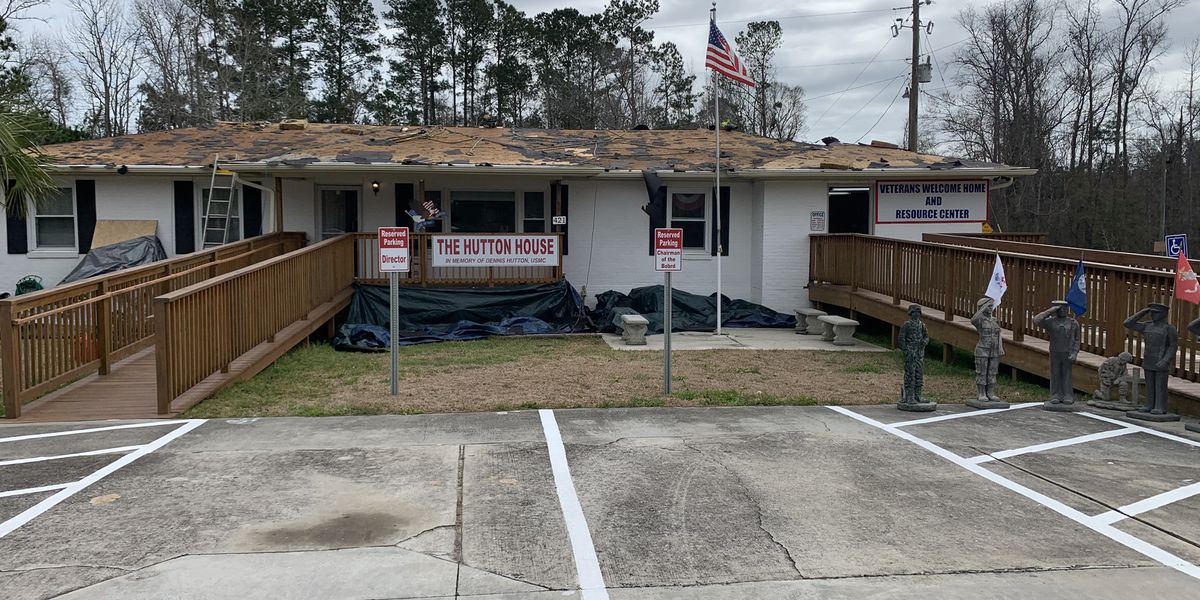 Little River veterans center gets much-needed new roof free of charge