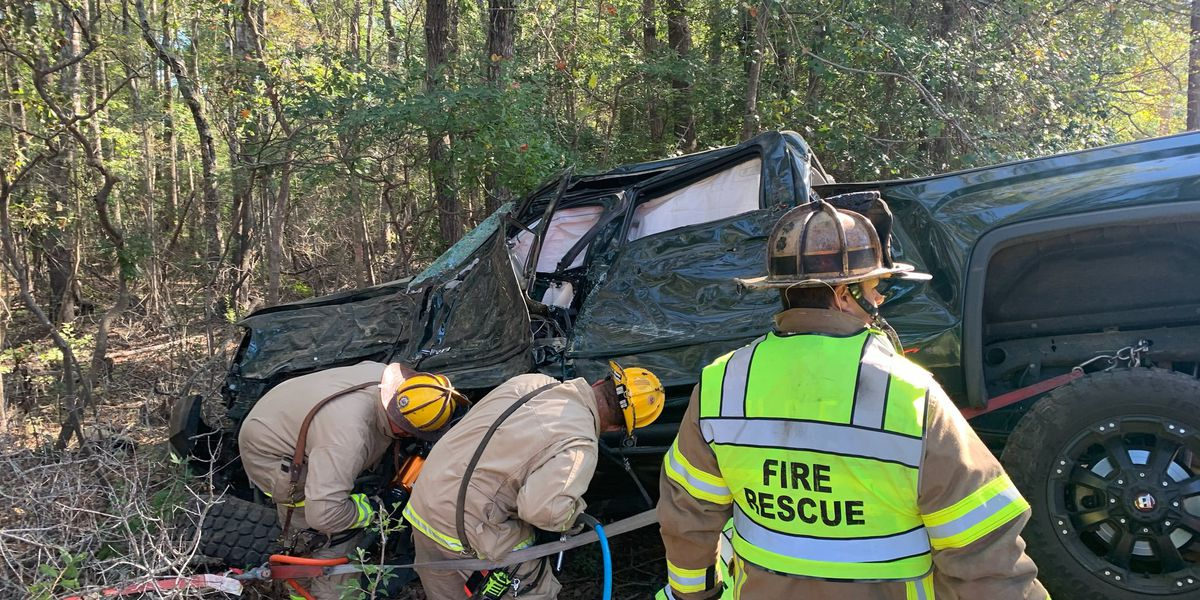 Victim suffers 'serious injures' after wrecking into tree off Highway 9 in Longs Sunday