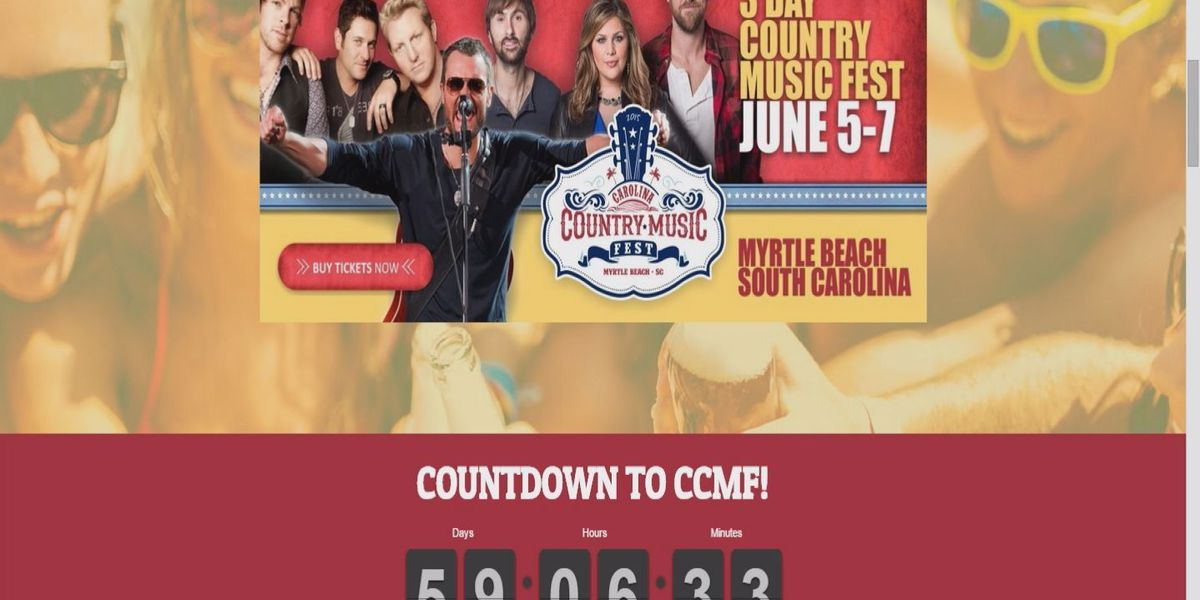 With 2 months until Carolina Country Music Festival, promotion efforts ramp up