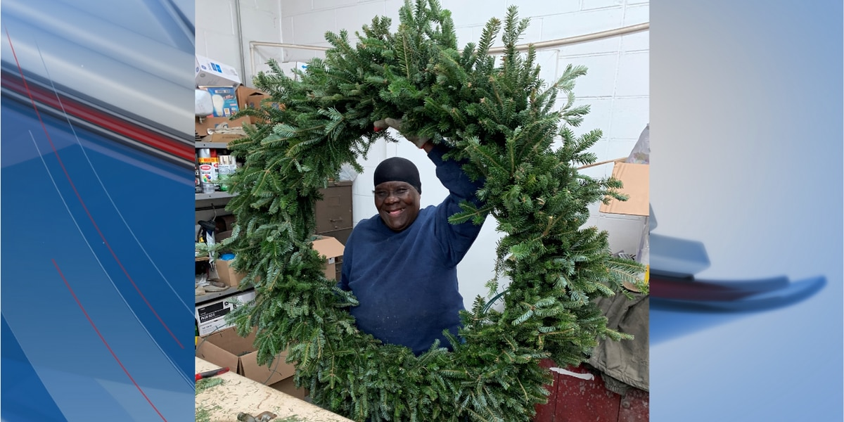 This is Carolina: 'The Wreathmaker' decks the halls for 42 years