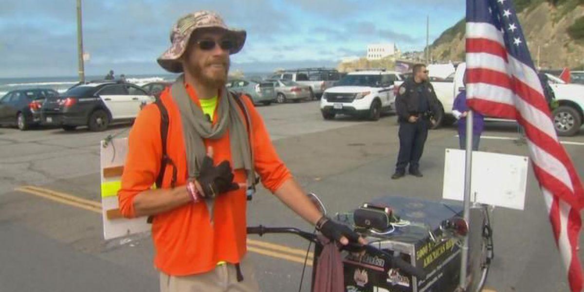 NMB veteran finishes 5,000-mile Hero Walk in San Francisco