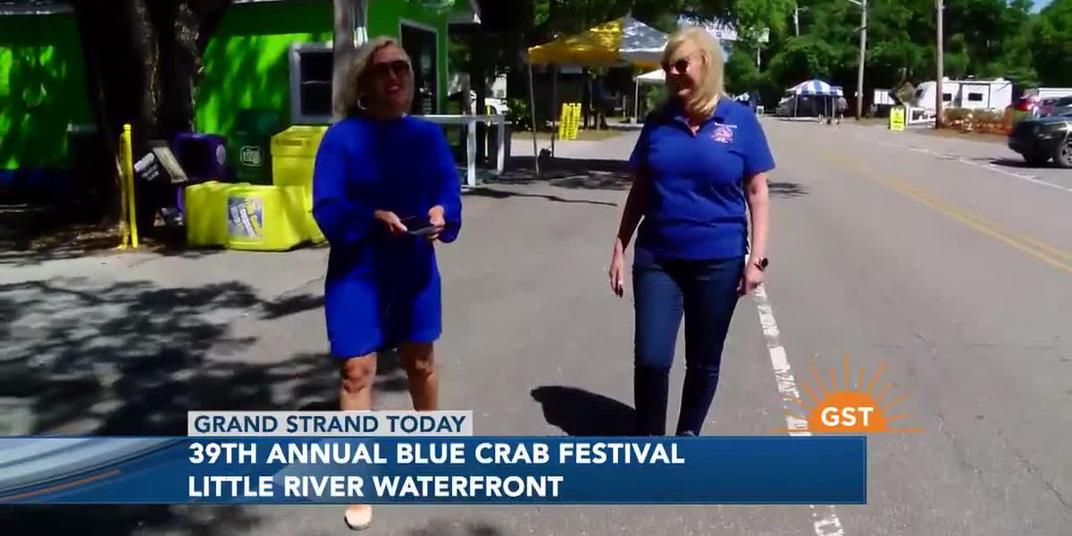 Gearing up for this weekend's 39th Annual World Famous Blue Crab Festival