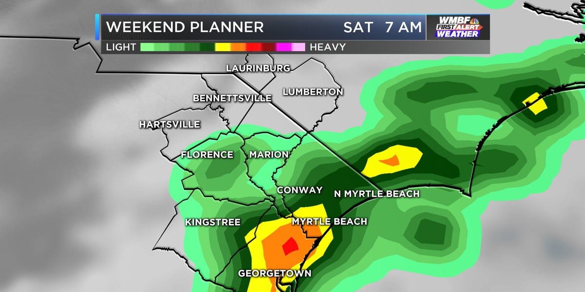 FIRST ALERT: Stormy at times through the weekend