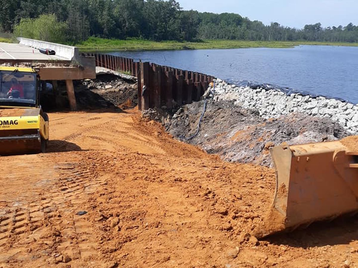 SCDOT: Bridge in McColl damaged during Hurricane Florence expected to open in December