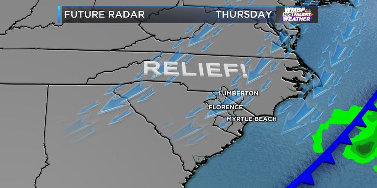 FIRST ALERT: Lower humidity to continue