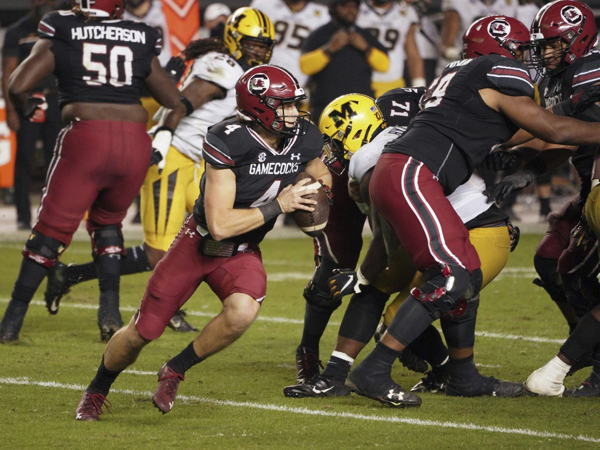 Former Myrtle Beach star Luke Doty starts at QB for South Carolina