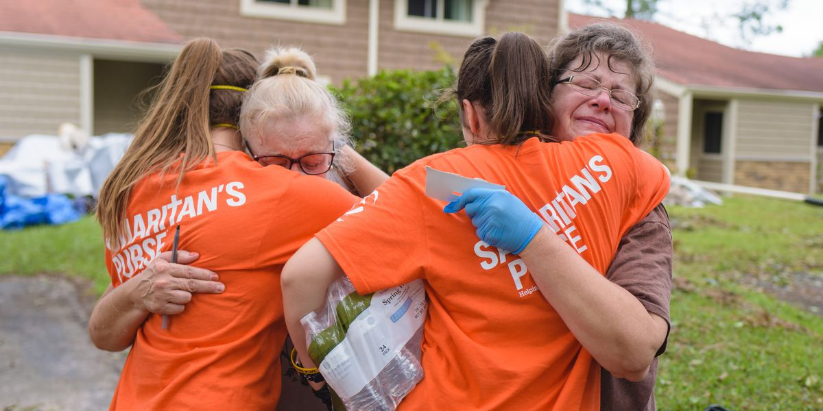 Samaritan's Purse offering help to over 300 hurricane victims in NC, SC