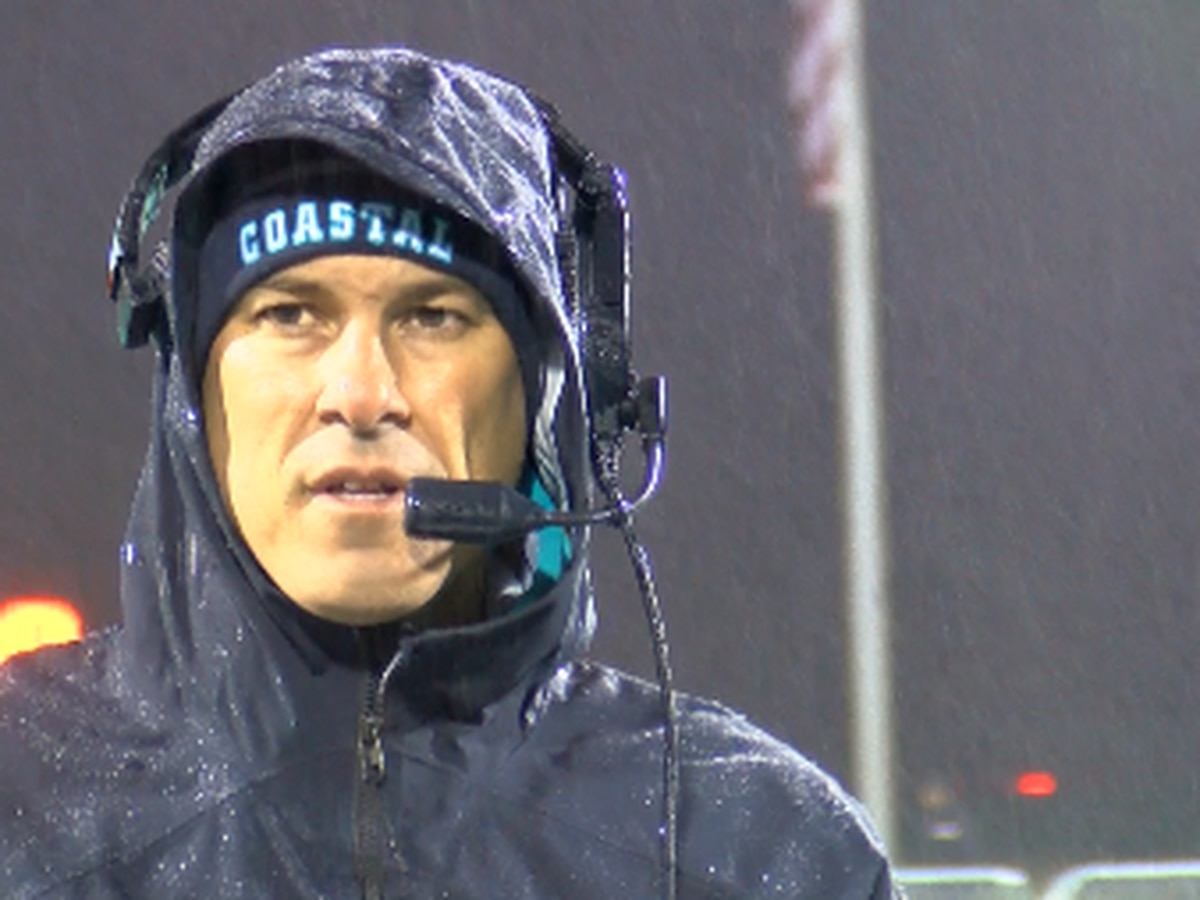 Coastal Carolina football ends spring sessions with soggy spring game