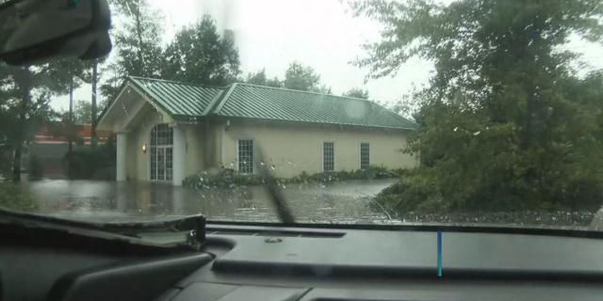 Water damages doctor's office off Highway 501 in Myrtle Beach