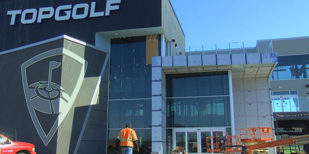 Construction almost complete for Topgolf Myrtle Beach ahead of 2019 opening