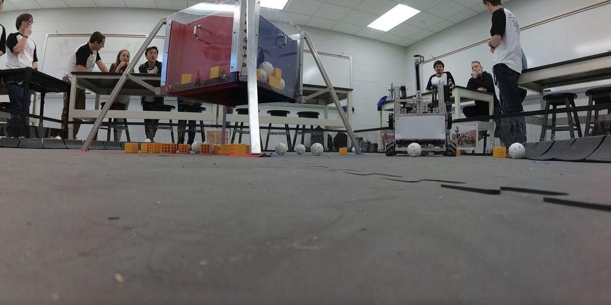 Myrtle Beach robotics team raising money to compete at World Championship