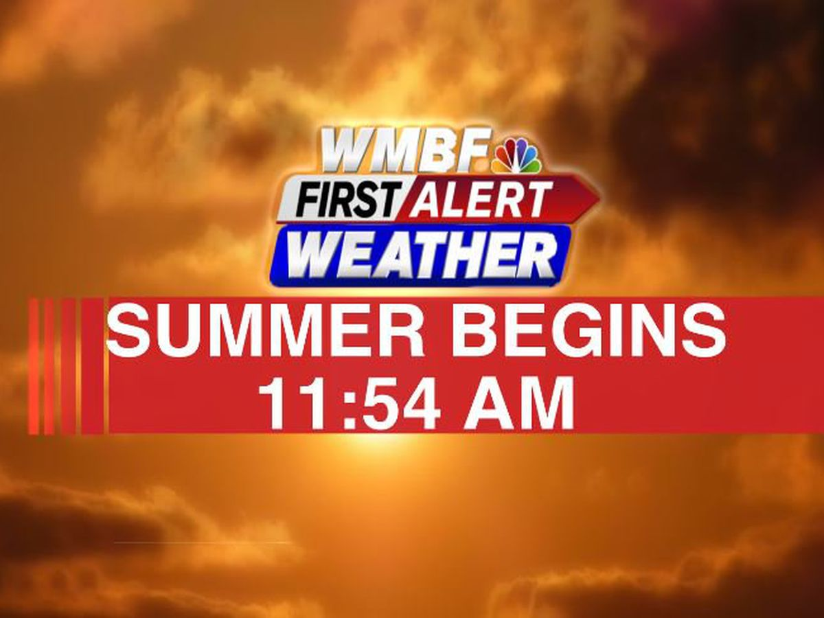 FIRST ALERT: Summer officially begins with a brief break in humidity
