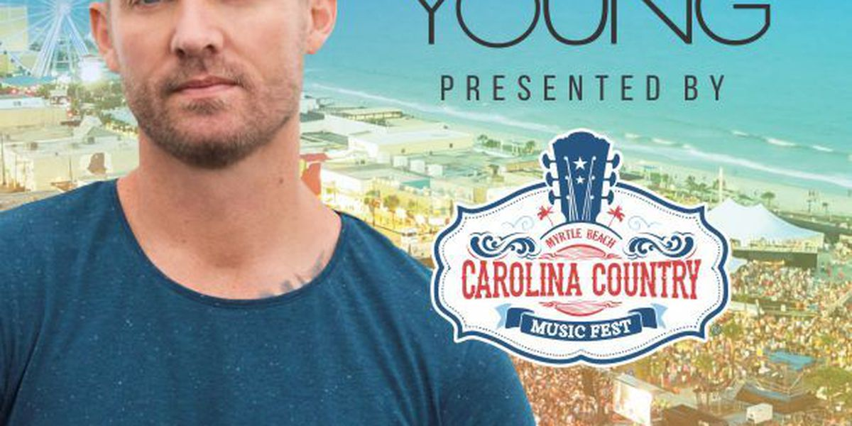 Brett Young scheduled to perform at 2018 CCMF