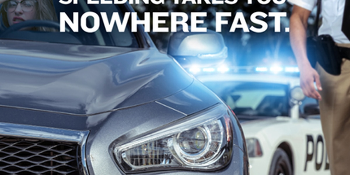SC to participate in 'Speeding Takes You Nowhere Fast' campaign to reduce speed-related deaths and collisions