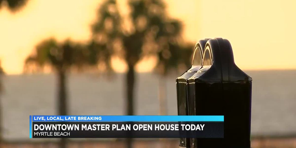 Myrtle Beach Master Plan open house
